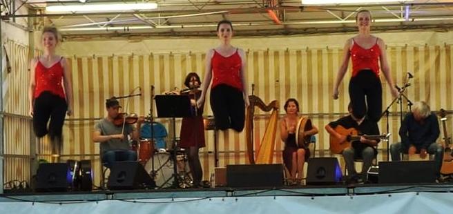 festival de musique celtique avec chant harpe et danse irlandaise
